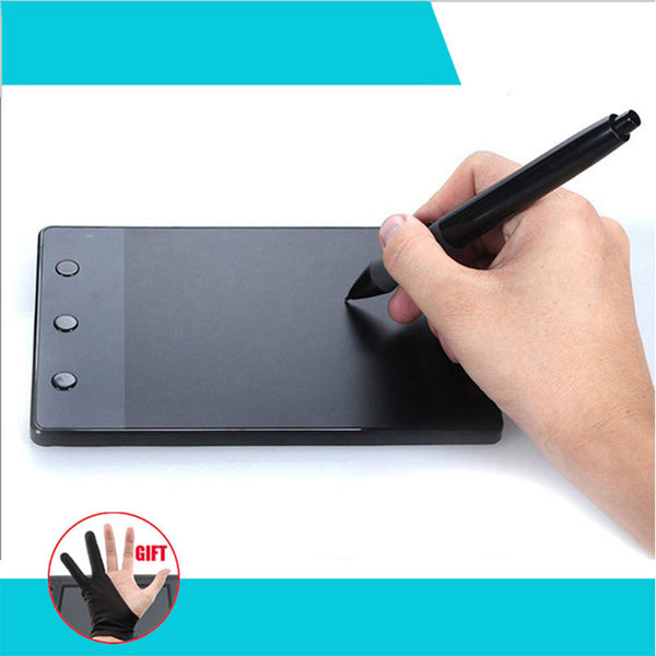 "H420 4 x 2.23"" USB Art Design Drawing Tablet for Drawing Graphic Tablet OSU USB Digital Pen For PC Computer"