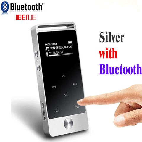 Original Touch Screen MP3 Player 8GB Metal APE/FLAC/WAV High Sound Quality Entry-level Lossless Music Player with FM