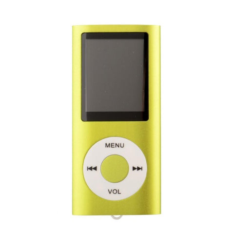 Mp4 Player 32Gb 8-colors 4th 1.8 screen MP4 video Radio music movie player SD/TF card Mp4 Player Dab Radio