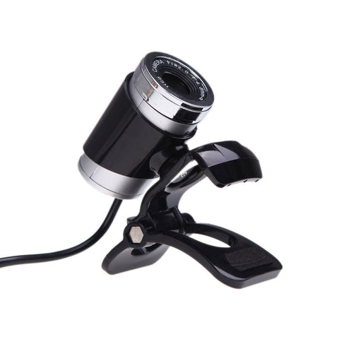 USB 2.0 12 Megapixel HD Camera Web Cam with MIC Clip on 360 Degree for Desktop Skype Computer PC Laptop Black