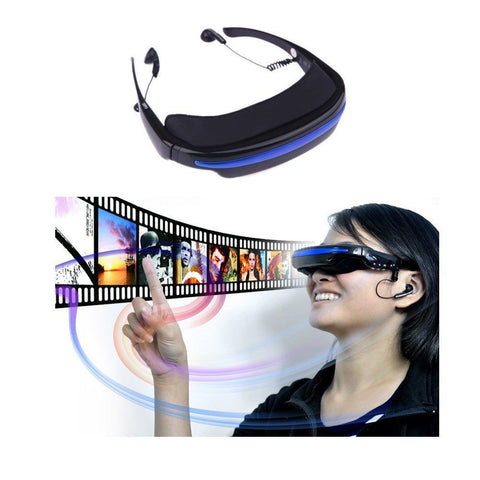 4:3 Virtual Wide Screen Video Glasses Eyewear - Mobile Private Theater