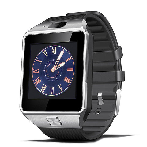 Smart Watch Clock With Sim Card Slot Push Message Bluetooth Connectivity Android Phone Smartwatch Men Watch