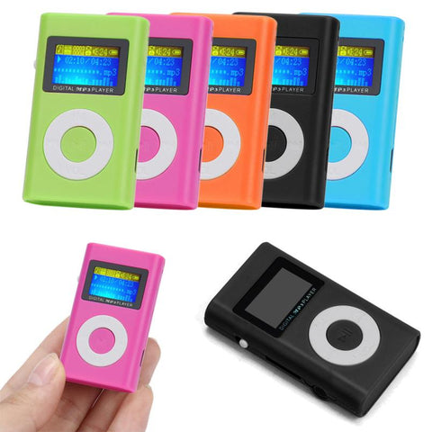 Walkman Hifi Player USB Mini MP3 Player LCD Screen Support 32GB Micro SD TF Card Mp3 Sport Music Player Headphones Mp3 Player