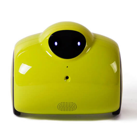 WIFI Family Robot Baby Monitor with Remote Control & 2-Way Voice Intercom with Modified Tone & Automatic Charging