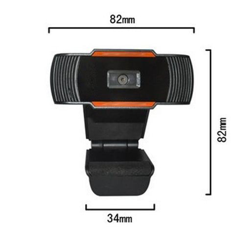 USB Web Cam 12.0MP High Definition Web Camera 360 Degree Rotatable with MIC Clip-on Webcam for Skype Computer Notebook PC