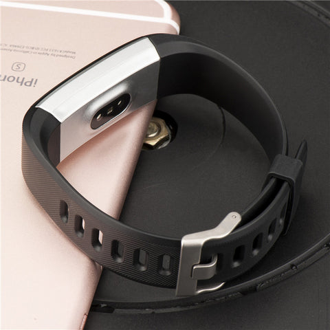 Smart Bracelet GPS Fitness Tracker Watches Band Heart Rate Monitor Step Counter Alarm Clock Wristband