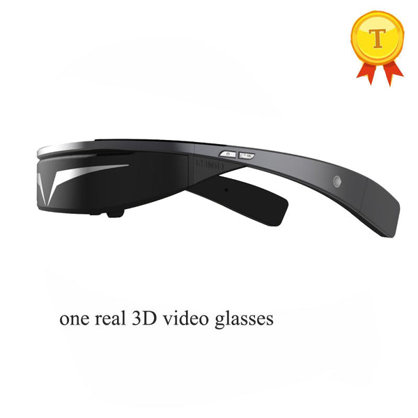 3D Virtual Stereo Digital Video Glasses - HD 1080P Smart Glasses