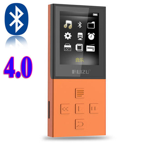Bluetooth Sport MP3 Player with 8G can playing 130 Hours high quality lossless Recorder FM for bluetooth speaker