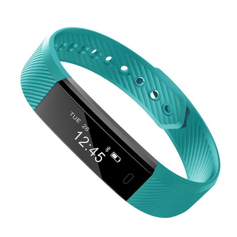 ID115 Smart Band Bluetooth Bracelet Pedometer Fitness Tracker Watch Remote Camera Wristband For Android iOS