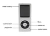 1.8 inch support 8GB 16GB 32GB mp3 player Music playing 4th gen with fm radio video player E-book mp3 music players
