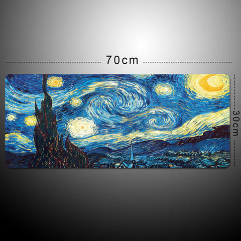 Small/Large Mouse Pad for Gaming Player desk laptop Rubber Mouse Mat mousepad Geometric formula & Blackboard