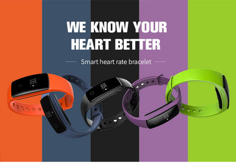 Smart Band Smartband Heart Rate Monitor Wristband Fitness Flex Bracelet for Android iOS smart ID107