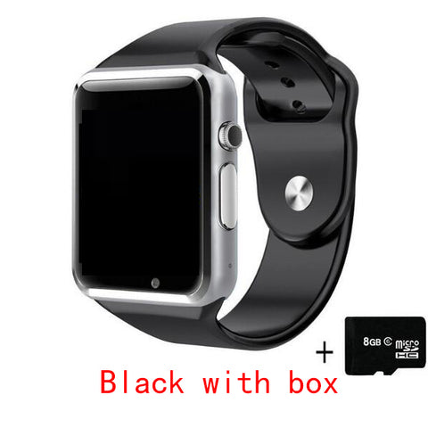 Smart Watch With Passometer Camera SIM Card Call Smartwatch For Xiaomi Huawei HTC Android Phone