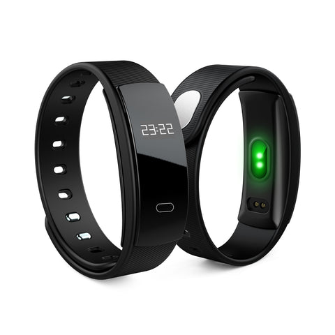 Smart Wristband 0.42'' OLED Heart Rate Monitor Alarm Clock Watches Blood Pressure Pedometer Fitness Tracker for Android ios