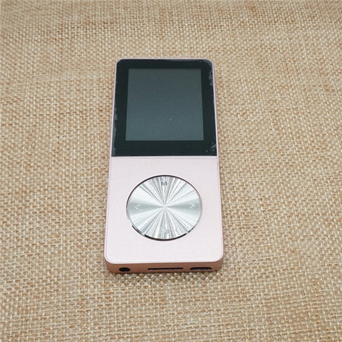 HiFi Metal MP4 Player Built-in Speaker 4GB 8GB 16GB 1.8 Inch Screen can Support 32GB SD Card with Video Alarm FM E-Book