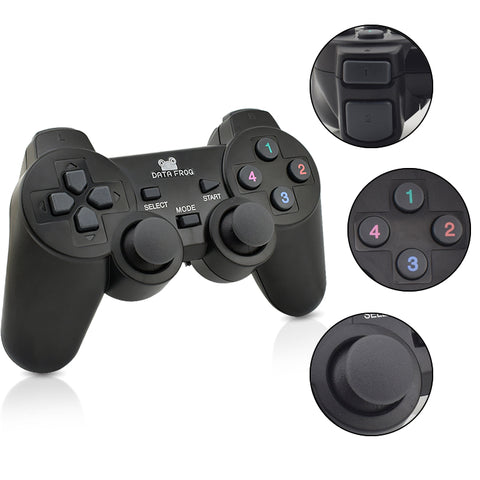Dual 2.4G Wireless Game Controller For Android Smart Phone Joystick Gamepad For Android TV Box For PC