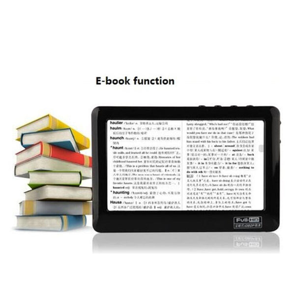 HD Touch MP4 Player 8gb Build-in Speaker 4.3 Inch Screen MP4 Player Support Av Out Recorder 30 Languages MP5 Music Player