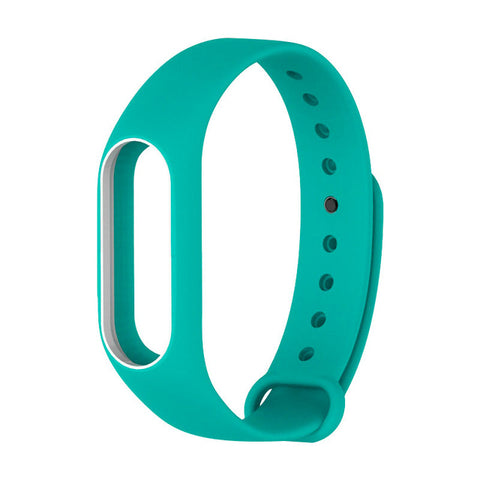 For Xiaomi Mi Band 2 Strap For Mi Band 2 Silicone Bracelet Replacement Wristband Smart Band Accessories Colorful wrist Strap