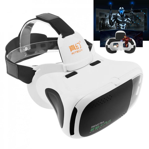Head-mounted 3D Virtual Reality Glasses With AR Function and Buffer Sponge