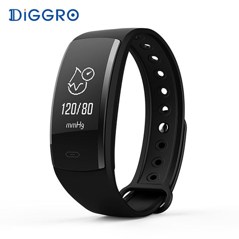 Blood Pressure Smart Bracelet Heart Rate Monitor Blood Oxygen Monitor IP67 Fitness Tracker for Andriod IOS VS QS80