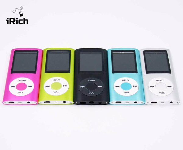 Hot Offer Best Price! 8 colors mp4 player 4th 1.8' screen MP4 video FM Radio music movie player SD/TF card top quality gift