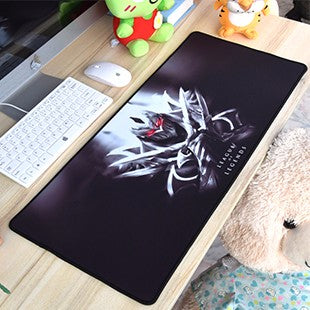 700x300x3mm League of Legends hot sale large gaming mouse pad anti-slip mousepad non-slip laptop table mat for players