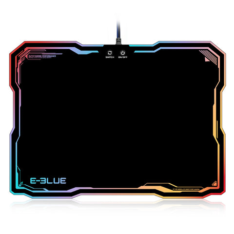 Gaming Mouse Pad Gamer Rubber Pad Mousepad RGB Light Lighting Mouse Mousepad For Computer PC Notebook Loptop