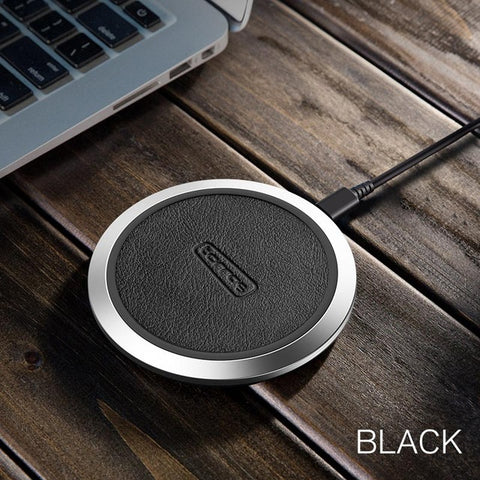 Original Qi Wireless Charger for iPhone x 8 8plus Slim Fast 10W USB Wireless Charging for Samsung S8/S7 Edge Wireless Pad