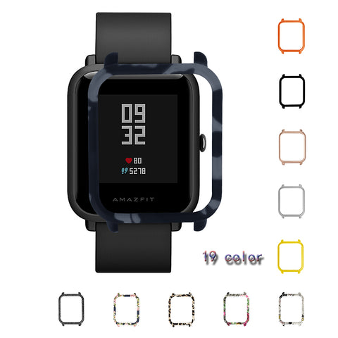 Case for Xiaomi Huami Amazfit Bip Bit youth Watch Case Replaced Cover Protective Shell for Amazfit Smart Watch Accessories