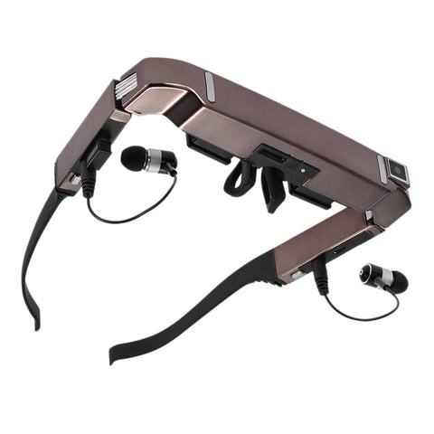 "VISION-800 Smart Android WiFi Glasses 80"" Wide Screen - Portable Private Theater"