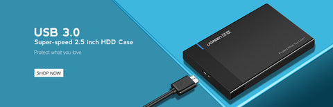 3.5 inch HDD Case SSD Adapter SATA to USB 3.0 for Samsung Hard Disk Drive Box 1TB 2TB 2.5 External Storage HDD Enclosure