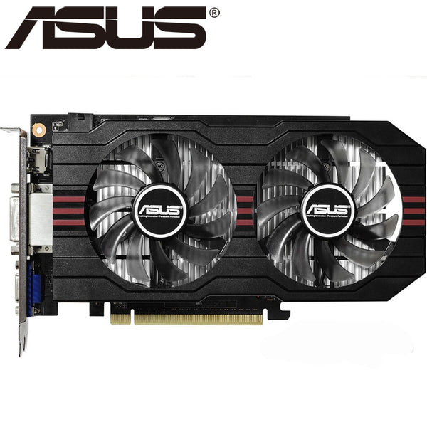 Video Card Original GTX 750Ti 2GB 128Bit GDDR5 Graphics Cards for nVIDIA Geforce GTX750Ti Hdmi Dvi Used VGA Cards On Sale