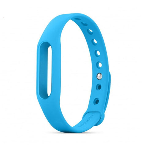 Free Ship Xiaomi Mi band 1&1S & Xiaomi mi band 1 Wristband Silicon Strap For Smart Bracelet Accessories Replaceable Smart Band