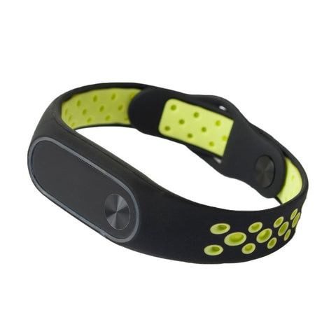 Ventilate Light Replacement Sport Wristband Strap Bracelet Smart Band Accessory for Xiaomi Xiomi Mi Band 2 Band2