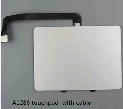 "Genuine Original A1286 Trackpad Touchpad With Flex Cable For MacBook Pro 15"" A1286 2009 2010 2011 2012 Year"