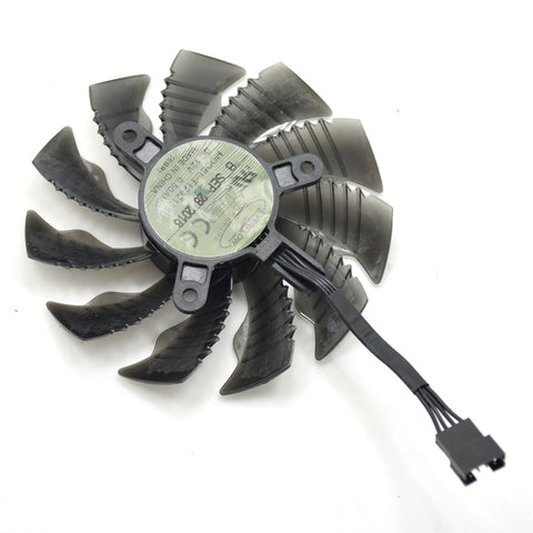 87mm Cooler Fan For Gigabyte GTX 1060 GTX 1050 TI RX 580 RX480 R9 380X 12V 0.50A 4Pin Graphics Card Cooling Fan