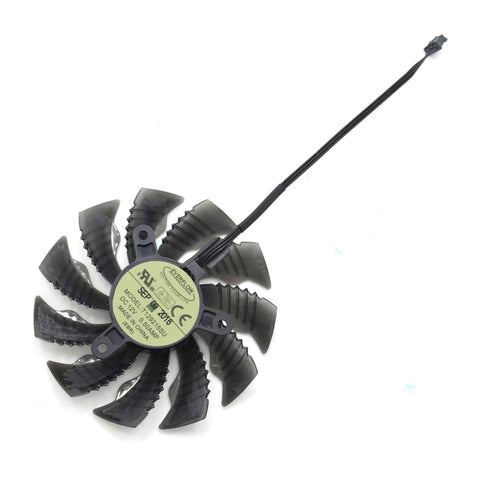 Everflow 85MM T129215SU DC 12V 0.50AMP 3Pin 4Pin Cooler Fan For ASUS Gigabyte GTX960 970 1050 Graphics Video Card Cooling Fans