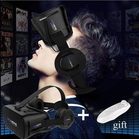 3D VR Glasses with Remote for All Phone
