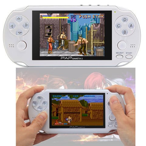 "4.3"" Handheld Game Player 64Bit PAP Gameta 8G 8GB PMP PSP Built-In 10000 MP4 MP5 Video Game Consoles"