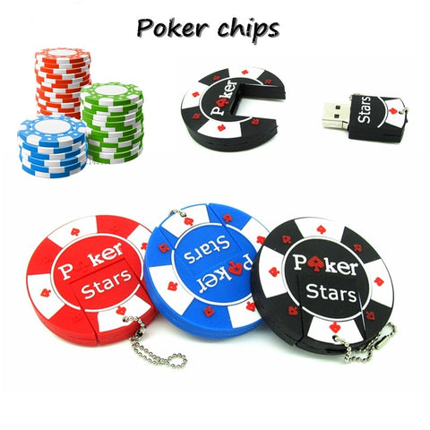 POKER STARS USB flash drive - Poker Chips Style