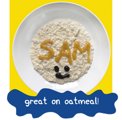 Noshi Food Paint on Oatmeal