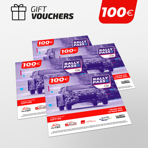 RALLY PASS Gift Voucher 100