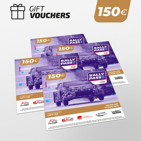 RALLY PASS Gift Voucher 150