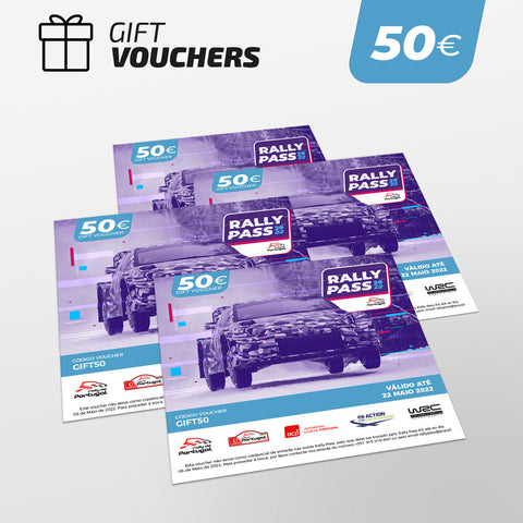 RALLY PASS Gift Voucher 50