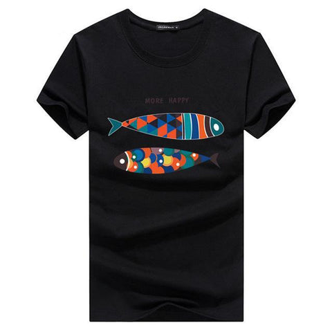 Contemporary Fish Tee