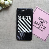 Off White Marble Case