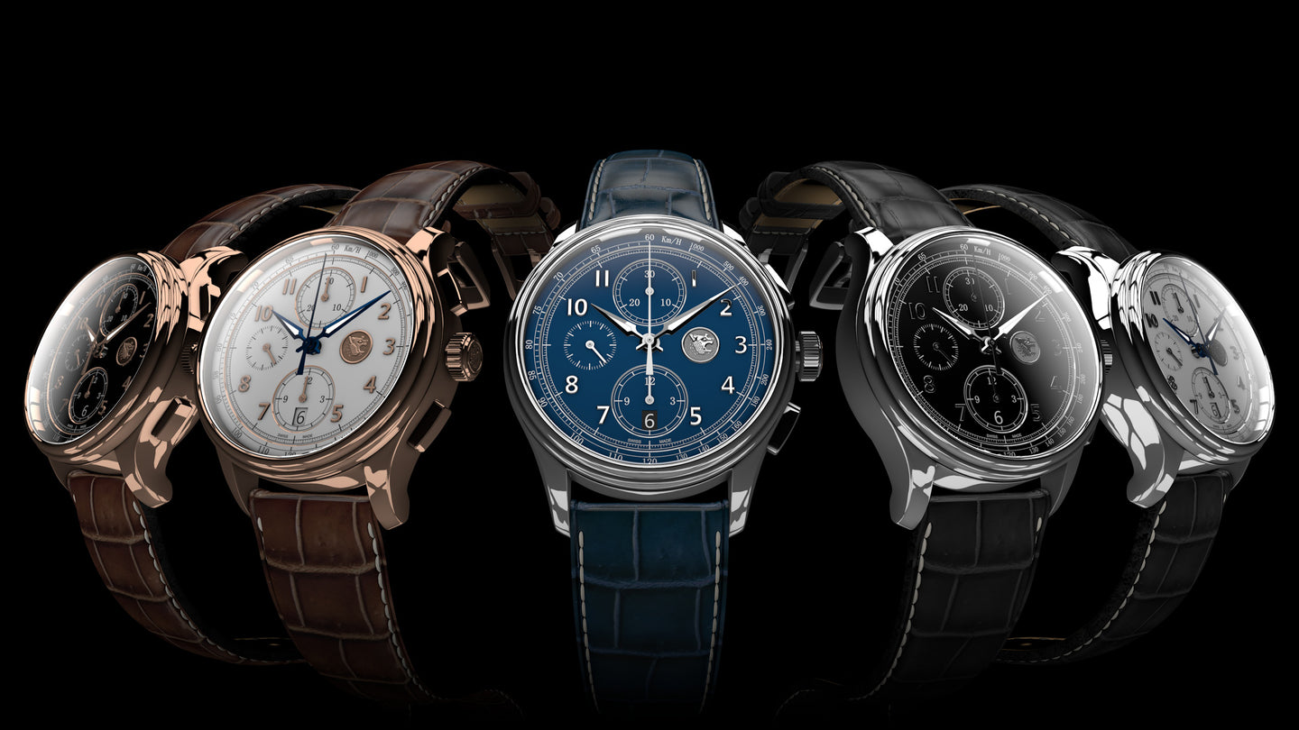 Exchange From Ephesos Chronograph to Triple Calender Chronograph 500