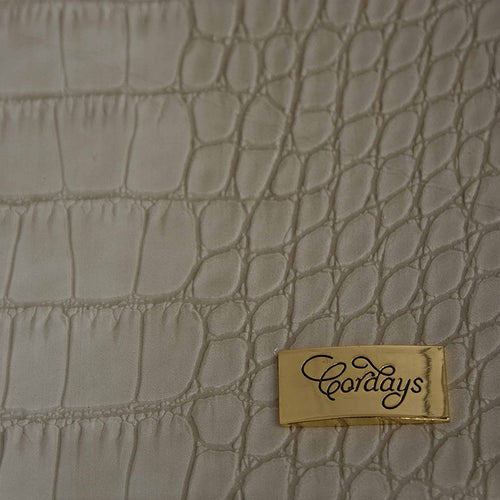 Desk Pad Set 5 pieces in Cream Textured Vegan Leather