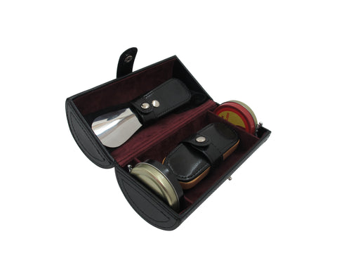 Tie Travel Case in Genuine Leather