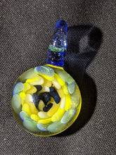 Eric G Glass Pastel Implosion Pendant